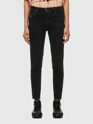 Babhila 0870G, Noir/Gris foncé - Jeans