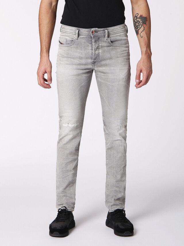 Diesel - BUSTER 0699J, Gris Clair - Jeans - Image 1