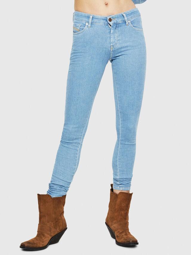 Diesel - Slandy 069FN, Bleu Clair - Jeans - Image 1