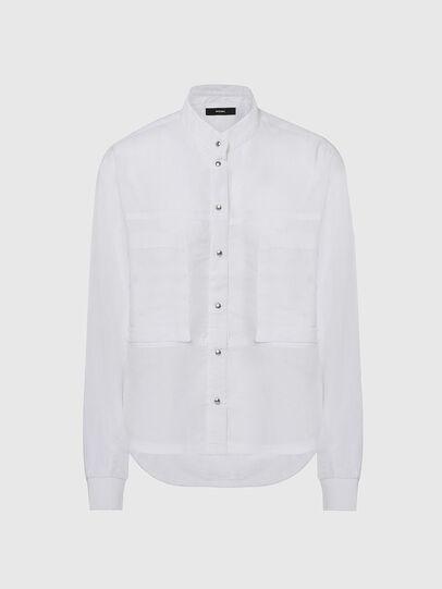 Diesel - C-SUPER-E, Blanc - Chemises - Image 1