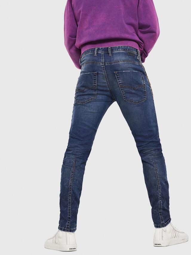 Diesel - Krooley JoggJeans 069FG, Bleu Foncé - Jeans - Image 2
