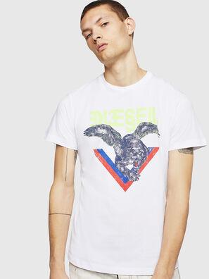 T-DIEGO-A4, Blanc - T-Shirts