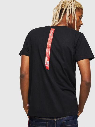 Diesel - CC-T-DIEGO-COLA, Noir - T-Shirts - Image 2