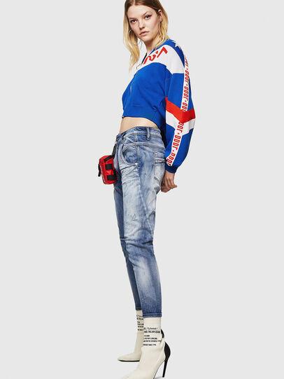 Diesel - Fayza JoggJeans 0870N, Bleu moyen - Jeans - Image 4