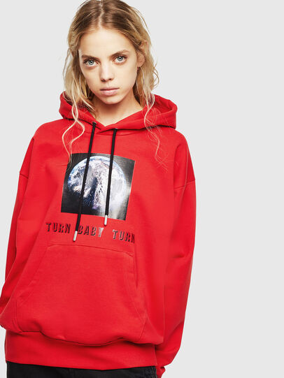 Diesel - S-ALBY-YA, Rouge - Pull Cotton - Image 2