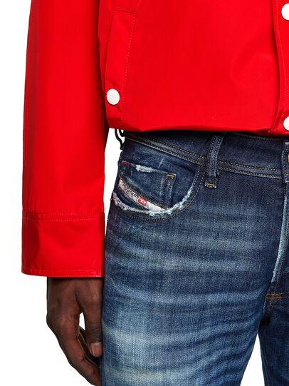 Diesel - Sleenker 09A27, Bleu Foncé - Jeans - Image 4