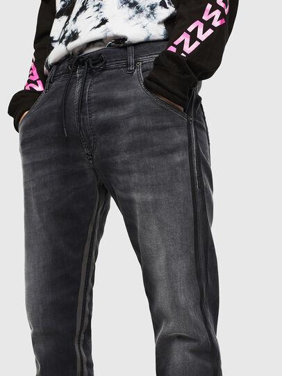 Diesel - Krooley JoggJeans 0094Q, Noir/Gris foncé - Jeans - Image 3