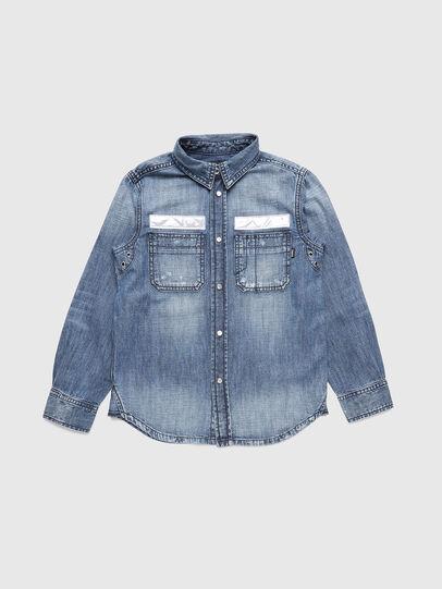 Diesel - CFRED, Bleu moyen - Chemises - Image 1