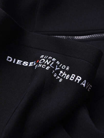 Diesel - SGORDONZIP OVER, Noir - Pull Cotton - Image 3