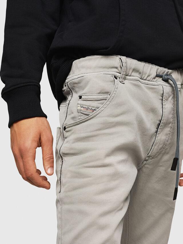 Diesel - Krooley JoggJeans 0670M, Gris Clair - Jeans - Image 3