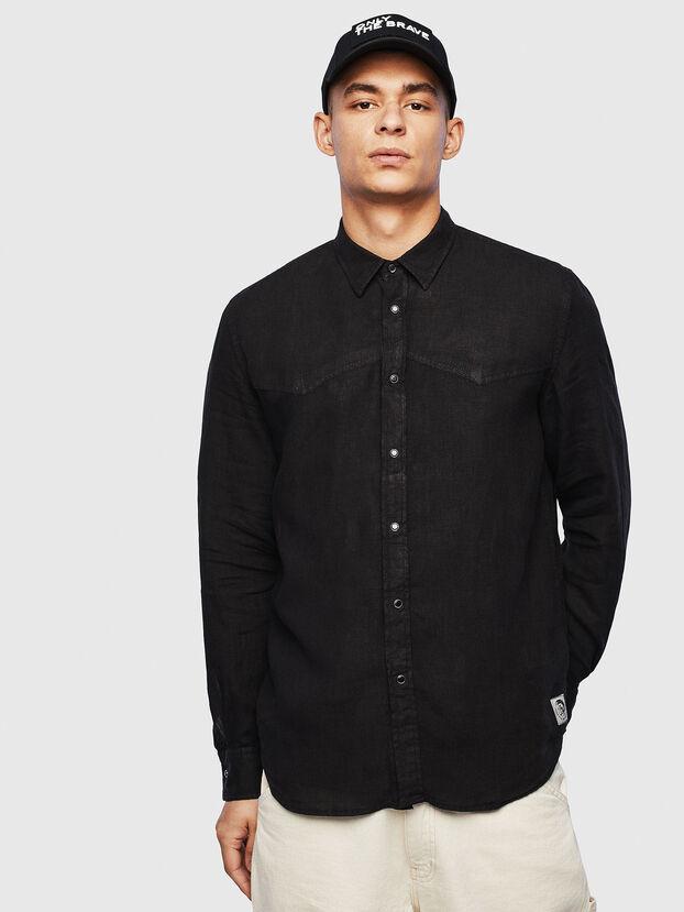 S-PLAN-B, Noir - Chemises