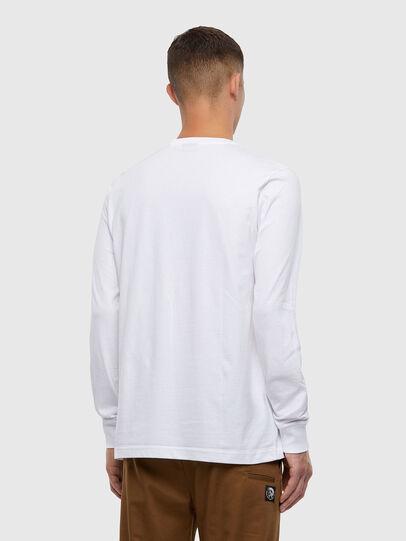 Diesel - T-JUST-LS-X93, Blanc - T-Shirts - Image 2