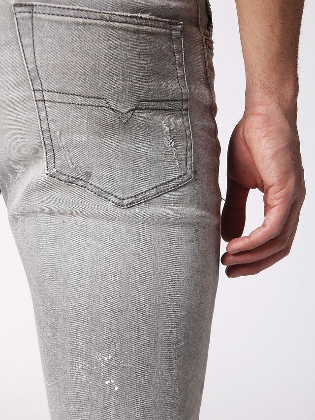 Diesel - BUSTER 0699J, Gris Clair - Jeans - Image 6