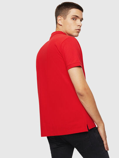 Diesel - T-KAL-PATCH, Rouge - Polos - Image 2