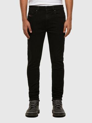 D-Amny 009HB, Noir/Gris foncé - Jeans