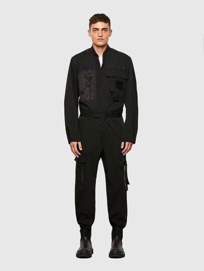 Diesel - P-DEVO, Noir - Pantalons - Image 1