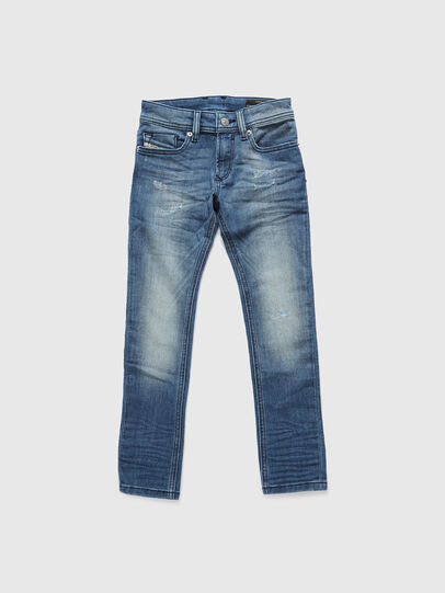 Diesel - SLEENKER-J JOGGJEANS-N, Bleu moyen - Jeans - Image 1