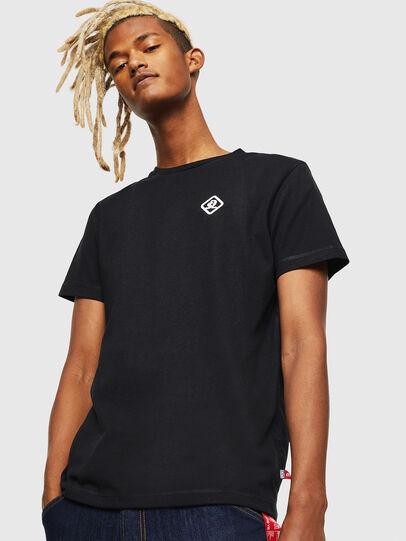 Diesel - CC-T-DIEGO-COLA, Noir - T-Shirts - Image 1