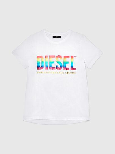 Diesel - BFOWT-SILY-P, Blanc - T-Shirts - Image 1