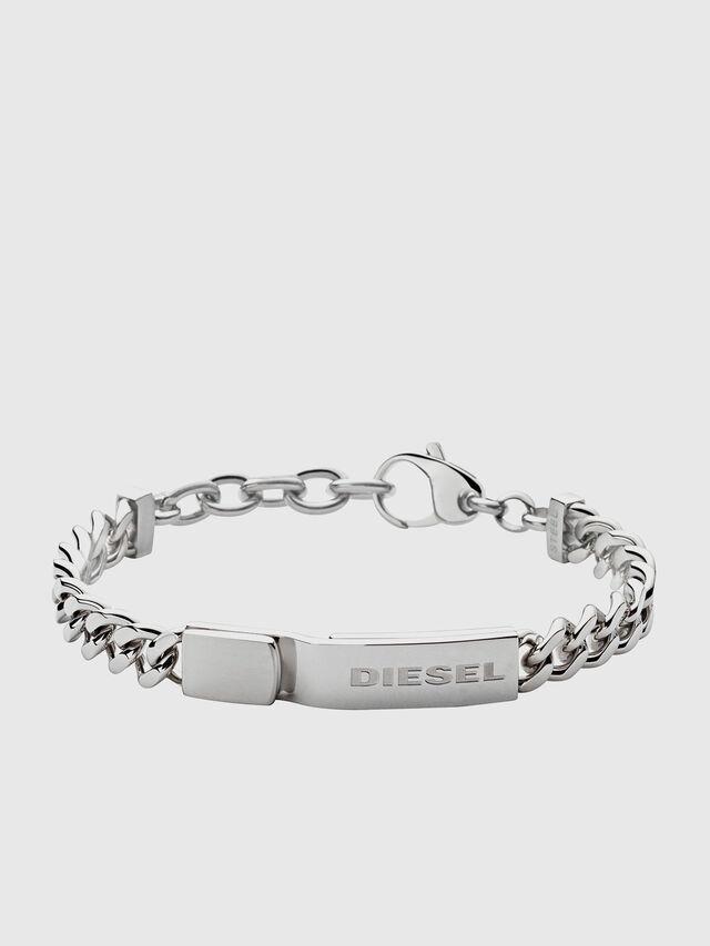 Diesel - DX0966, Gris argenté - Bracelets - Image 1