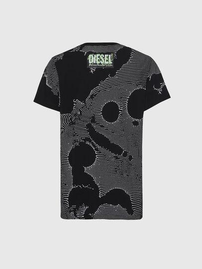 Diesel - T-DARIA-E4, Noir - T-Shirts - Image 2
