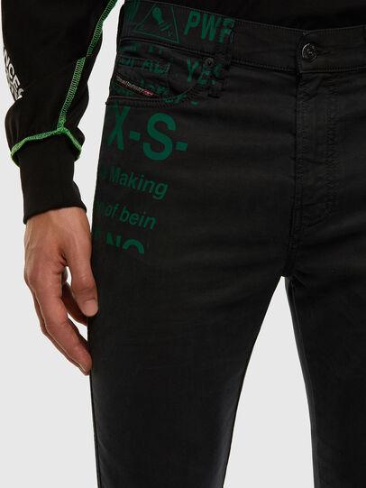 Diesel - D-Reeft JoggJeans 009HD, Noir/Gris foncé - Jeans - Image 3