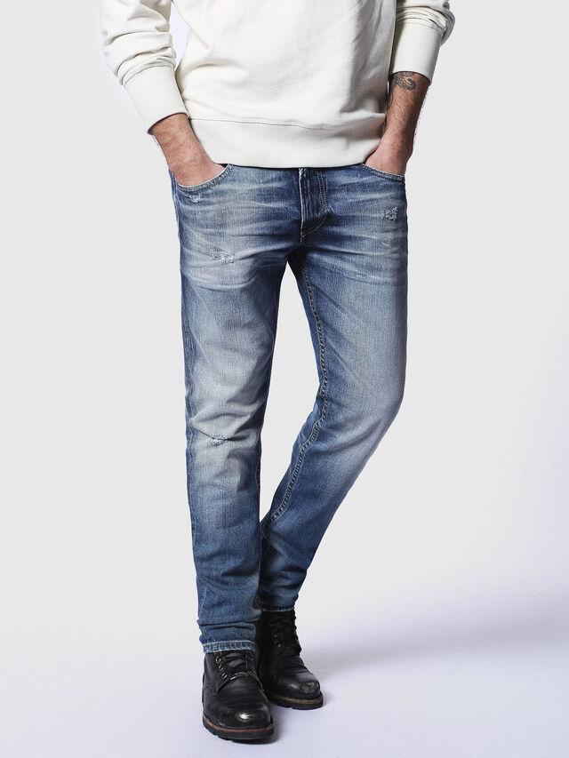 Diesel Thommer 084DD, Bleu moyen - Jeans - Image 1