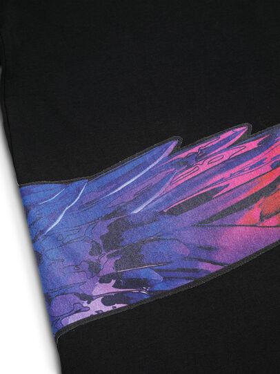 Diesel - D-5055-B, Noir - T-Shirts - Image 7