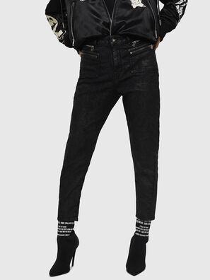 D-Eifault JoggJeans 084AG, Noir/Gris foncé - Jeans