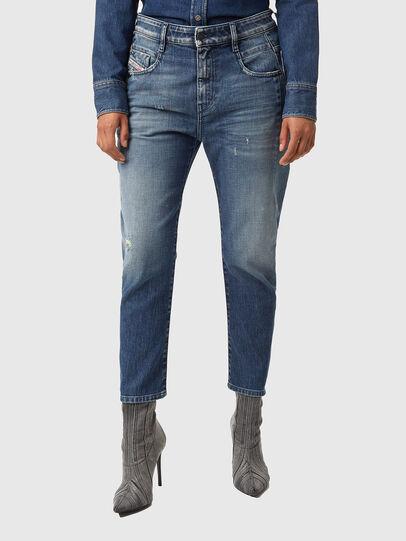 Diesel - Fayza 09A54, Bleu moyen - Jeans - Image 1