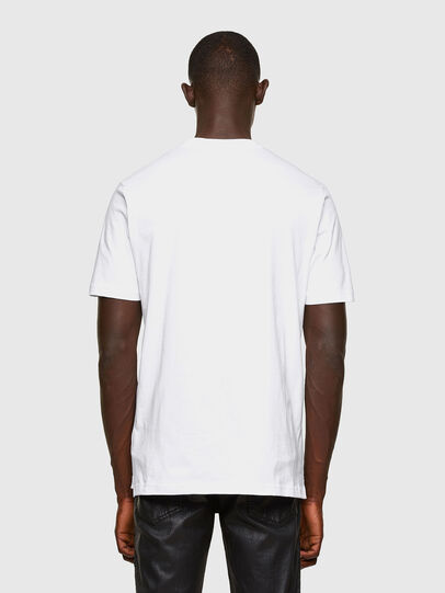 Diesel - T-JUST-SLITS-A30, Blanc - T-Shirts - Image 2