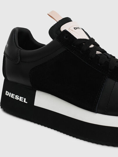 Diesel - S-PYAVE WEDGE, Noir - Baskets - Image 4