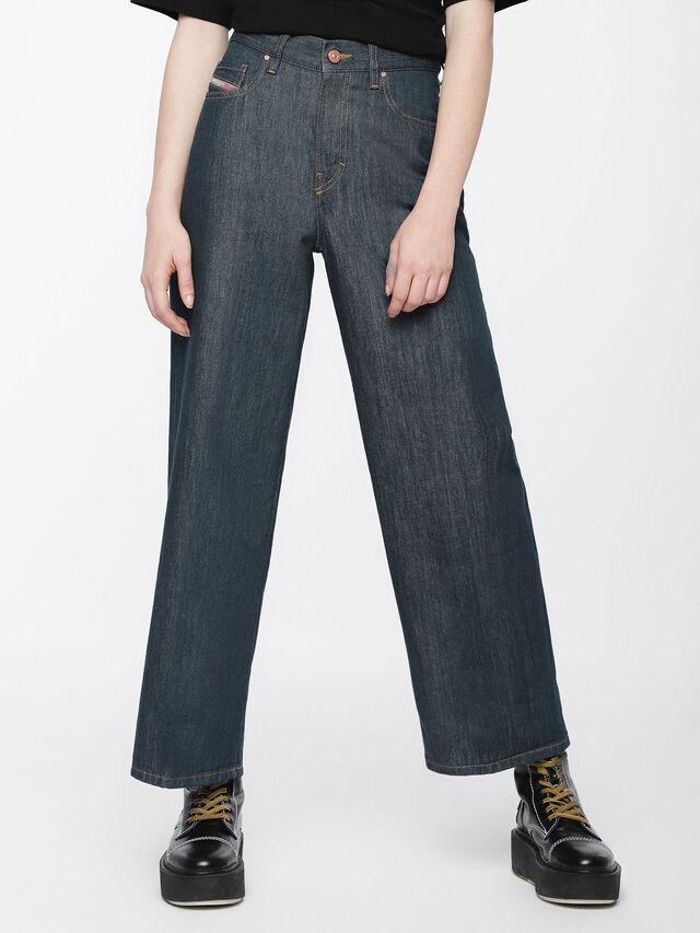 Diesel - Widee 084UR, Bleu Foncé - Jeans - Image 1