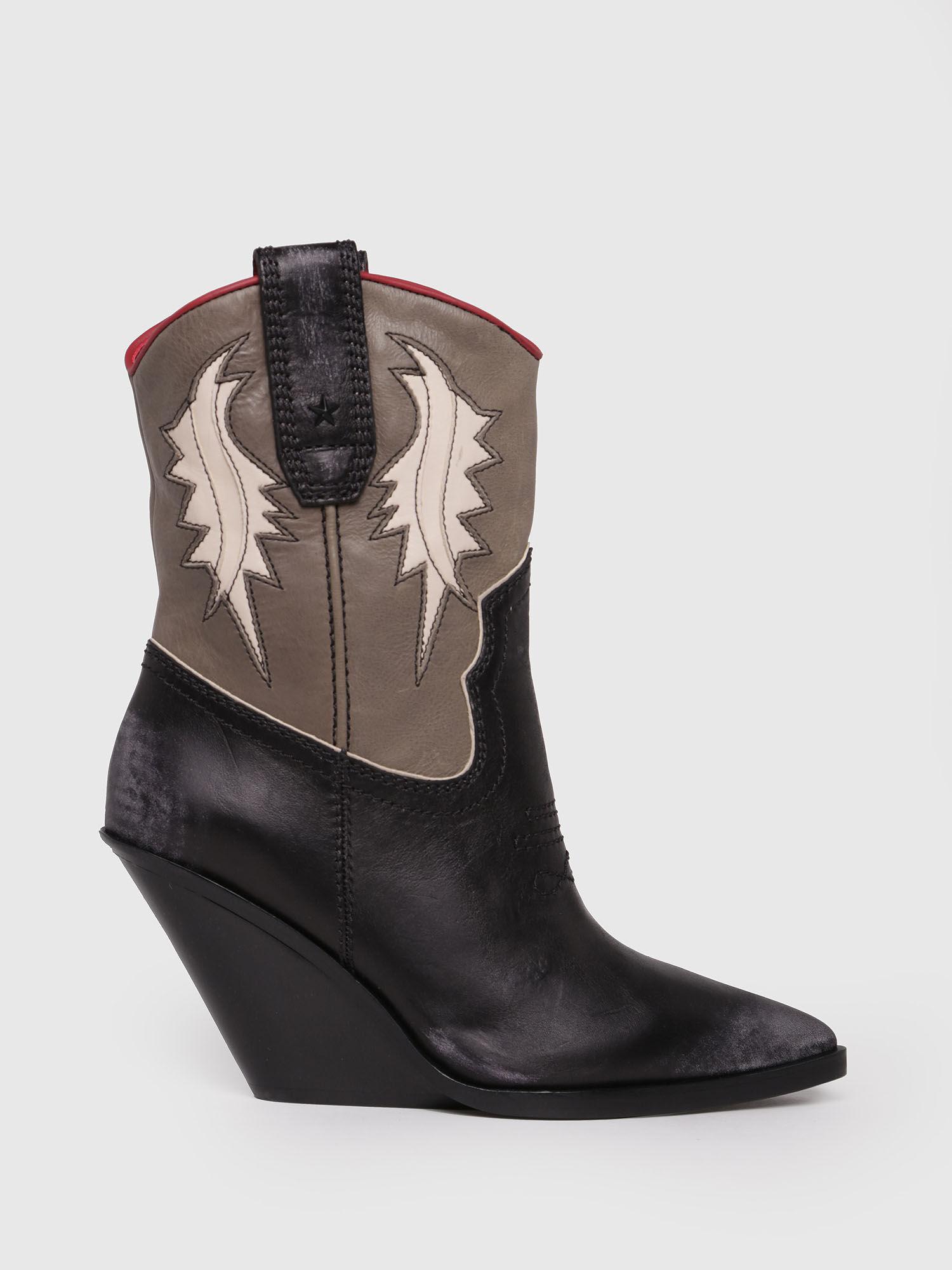 À With No Chaussures Go Plan Plates Diesel Talon Femme · SqnE1X