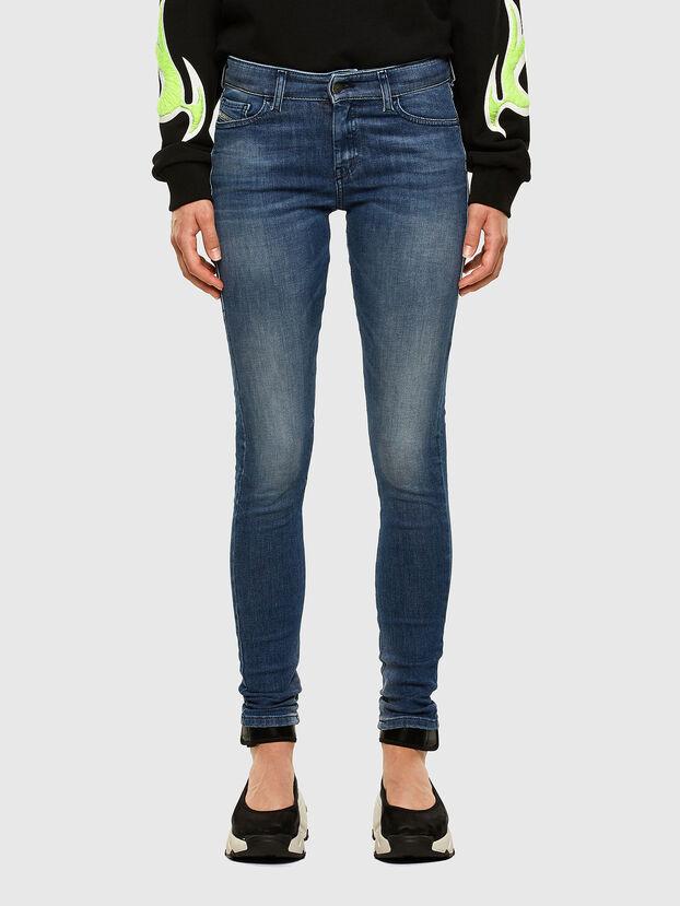 Slandy 009FF, Bleu moyen - Jeans