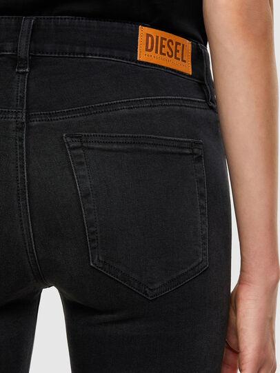 Diesel - Slandy 069JW, Noir/Gris foncé - Jeans - Image 4