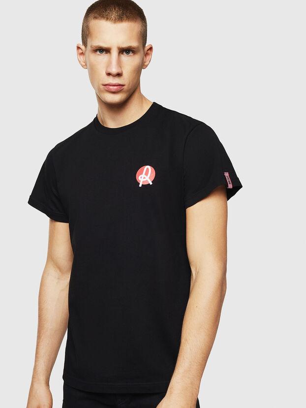 LR-T-DIEGO-VIC, Noir - T-Shirts