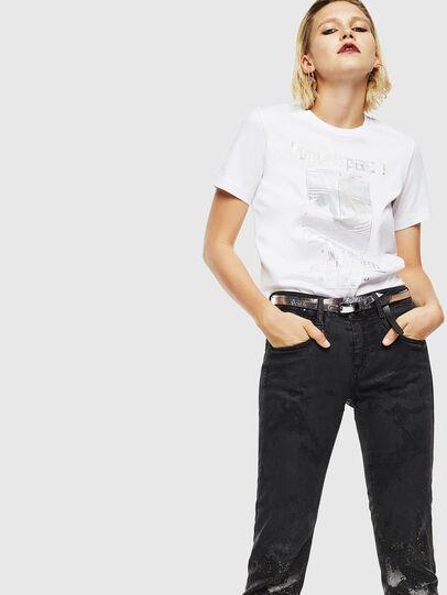 Diesel - T-SILY-YB, Blanc - T-Shirts - Image 5