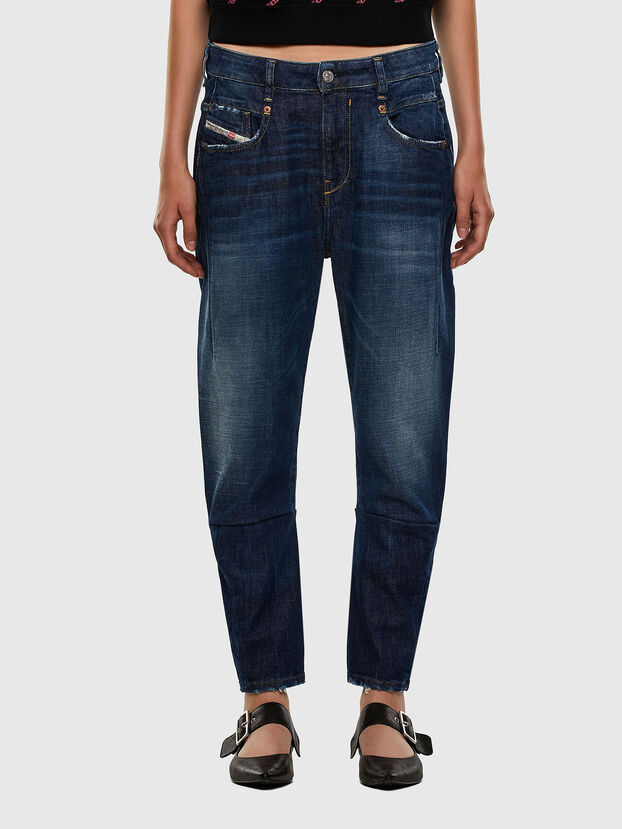 Fayza 0F9ET, Bleu Foncé - Jeans