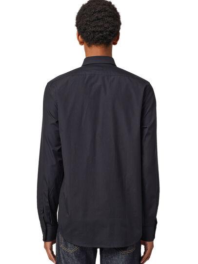 Diesel - S-BILL, Noir - Chemises - Image 2