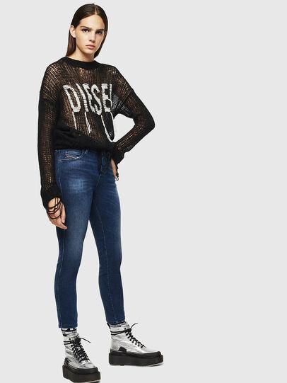 Diesel - Babhila 083AE, Bleu Foncé - Jeans - Image 5