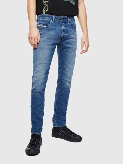 Diesel - Thommer 0097X, Bleu moyen - Jeans - Image 1
