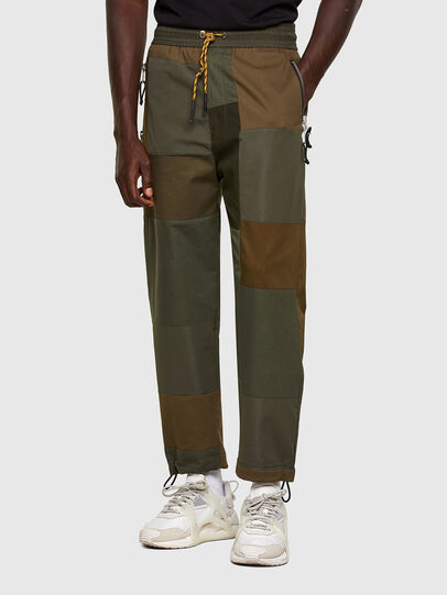 Diesel - P-HOR, Vert Militaire - Pantalons - Image 1