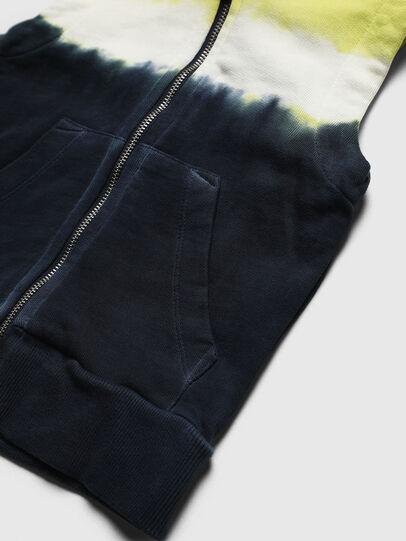 Diesel - SELBYDEEPB, Bleu/Jaune - Pull Cotton - Image 4