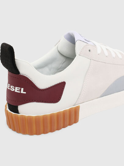 Diesel - S-BULLY LC, Blanc/Rouge - Baskets - Image 6