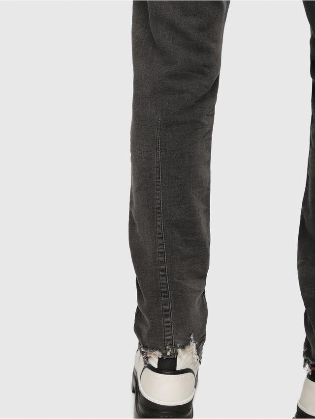 Diesel - Krooley JoggJeans 069EM, Noir/Gris foncé - Jeans - Image 3