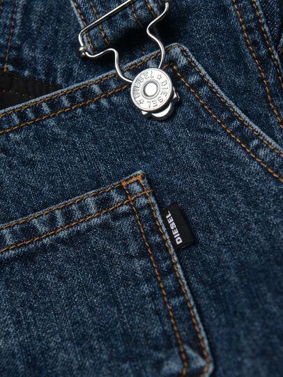 Diesel - DREBBI, Bleu moyen - Robes - Image 3