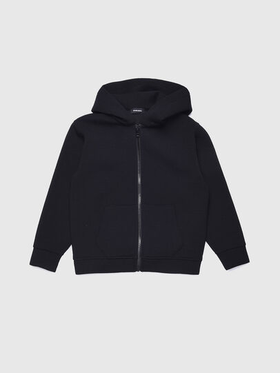 Diesel - SGORDONZIP OVER, Noir - Pull Cotton - Image 1