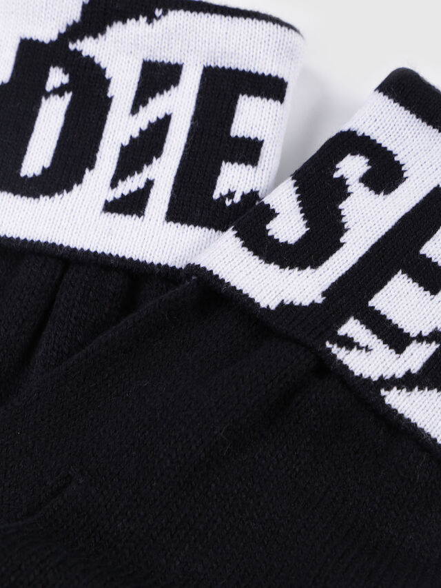 Diesel - K-SCREEX, Noir/Blanc - Bérets, chapeaux et gants - Image 3