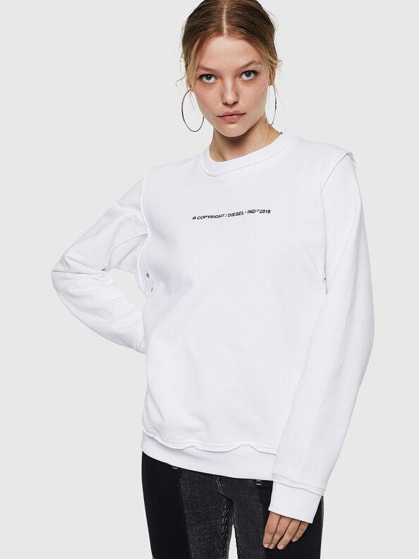 F-LYANY-F, Blanc - Pull Cotton
